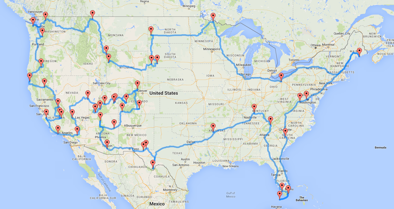 National Parks Road Trip